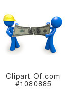 Royalty-Free (RF) Contractor Clipart Illustration #1080885
