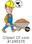 Contractor Clipart #1285375 by LaffToon