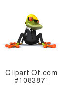 Contractor Frog Clipart #1083871 by Julos