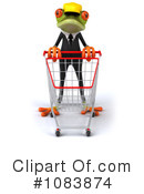 Contractor Frog Clipart #1083874 by Julos