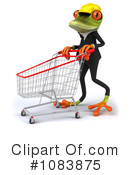 Contractor Frog Clipart #1083875 by Julos