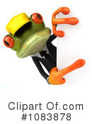 Royalty-Free (RF) Contractor Frog Clipart Illustration #1083878