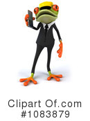 Contractor Frog Clipart #1083879 by Julos