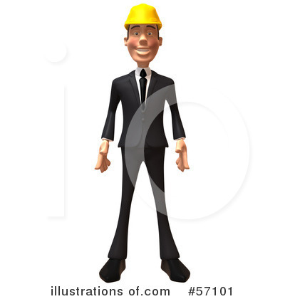 Architect Clipart #57101 by Julos