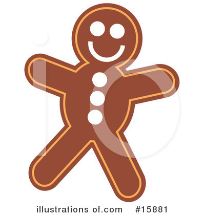 Gingerbread Clipart #15881 by Andy Nortnik