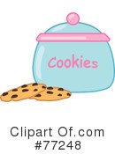 Royalty-Free (RF) Cookies Clipart Illustration #77248
