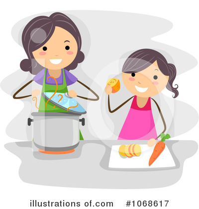 Royalty-Free (RF) Cooking Clipart Illustration #1068617 by BNP Design