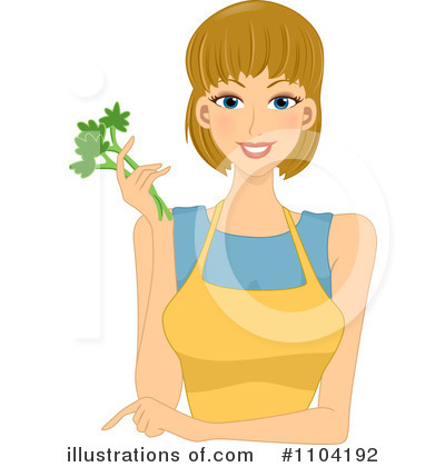 Parsley Clipart #1104192 by BNP Design Studio