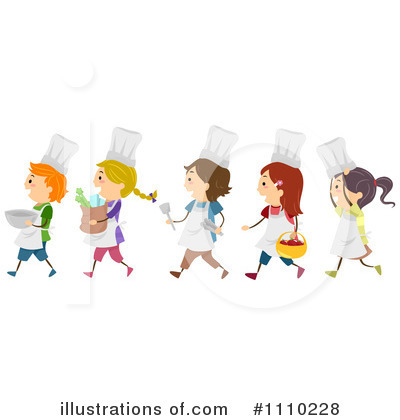 Royalty-Free (RF) Cooking Clipart Illustration #1110228 by BNP Design