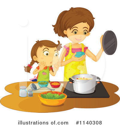 Cooking Clipart #1140308 by Graphics RF