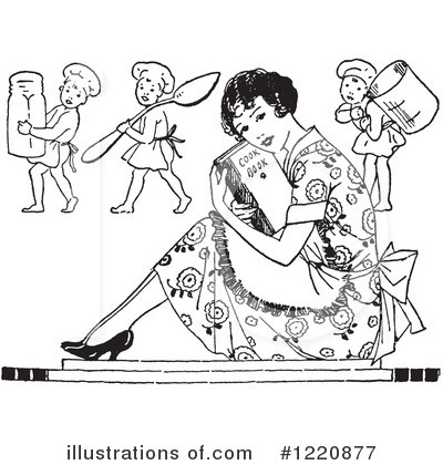 Housewife Clipart #1220877 by Picsburg