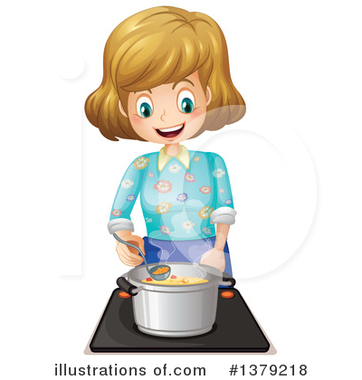 Royalty-Free (RF) Cooking Clipart Illustration by Graphics RF - Stock Sample #1379218
