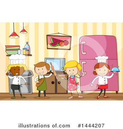 Cooking Clipart #1444207 by Graphics RF