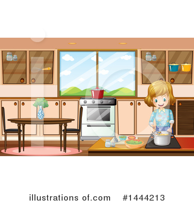 Cooking Clipart #1444213 by Graphics RF