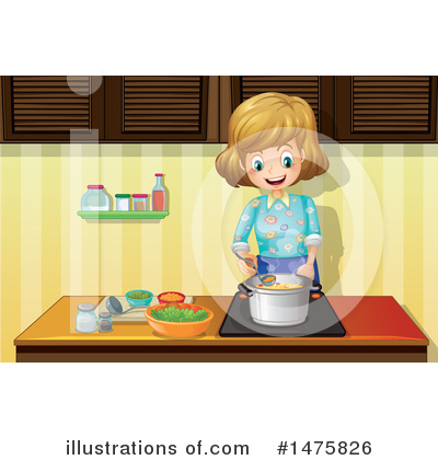 Cooking Clipart #1475826 by Graphics RF