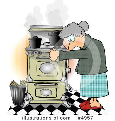 Old People Clipart #4957 by djart