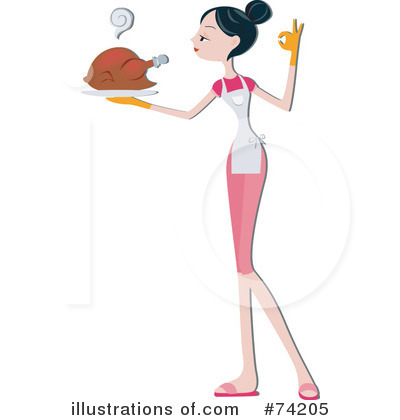 Royalty-Free (RF) Cooking Clipart Illustration by BNP Design Studio