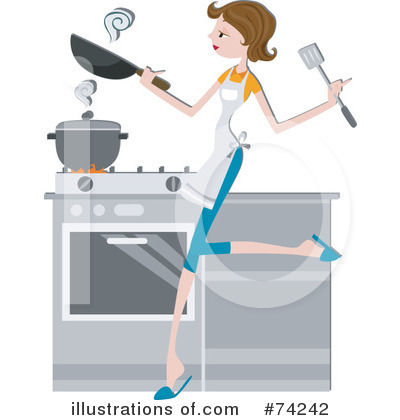 Stove Clipart #74242 by BNP Design Studio