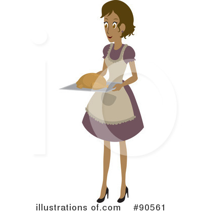 Royalty-Free (RF) Cooking Clipart Illustration by Rosie Piter - Stock Sample #90561