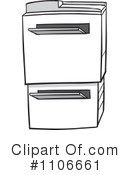 Copier Clipart #1106661 by Cartoon Solutions