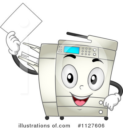 Office Clipart #1127606 by BNP Design Studio