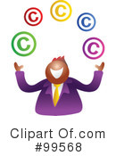 Copyright Clipart #99568