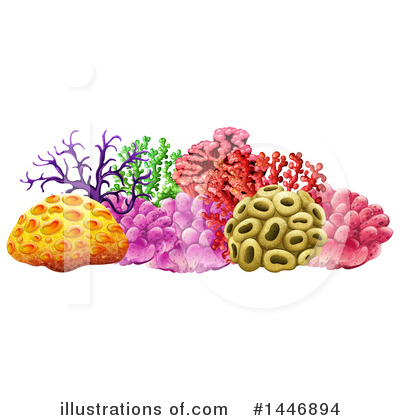 Reef Clipart #1446894 by Graphics RF