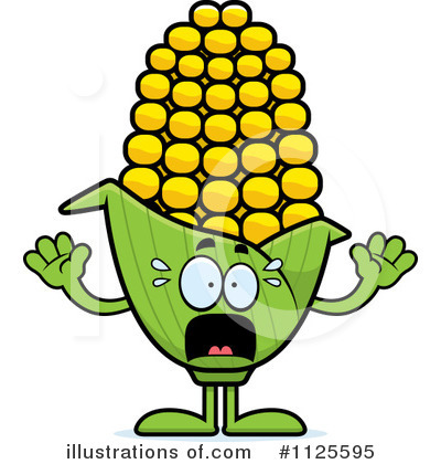 Royalty-Free (RF) Corn Clipart Illustration by Cory Thoman - Stock Sample #1125595