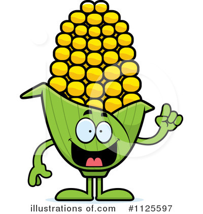 Corn Clipart #1125597 by Cory Thoman
