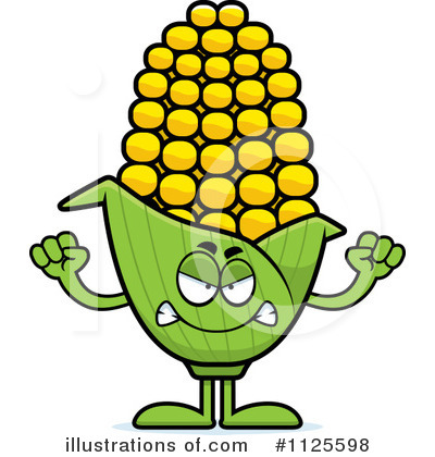 Corn Clipart #1125598 by Cory Thoman