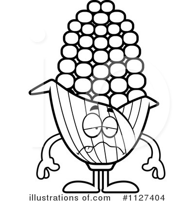 Corn Clipart #1127404 by Cory Thoman