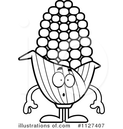 Corn Clipart #1127407 by Cory Thoman