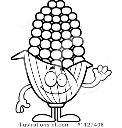 Corn Clipart #1127408 by Cory Thoman