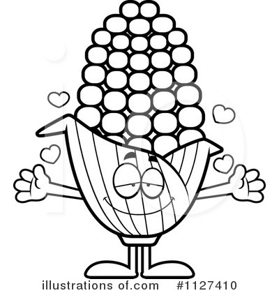 Corn Clipart #1127410 by Cory Thoman