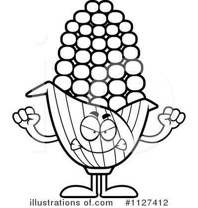 Corn Clipart #1127412 by Cory Thoman