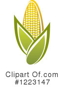 Corn Clipart #1223147 by Vector Tradition SM