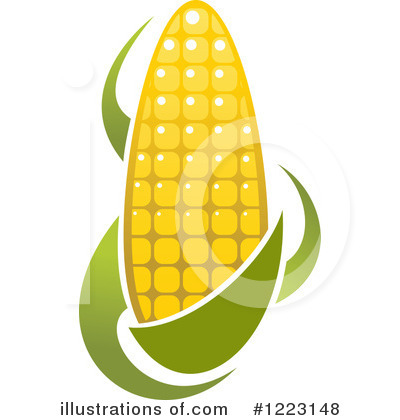 Corn Clipart #1223148 by Vector Tradition SM