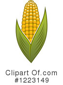 Corn Clipart #1223149 by Vector Tradition SM