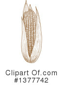 Corn Clipart #1377742 by Vector Tradition SM
