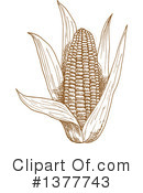 Corn Clipart #1377743 by Vector Tradition SM