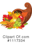 Royalty-Free (RF) Cornucopia Clipart Illustration #1117334