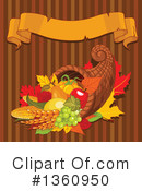 Royalty-Free (RF) Cornucopia Clipart Illustration #1360950