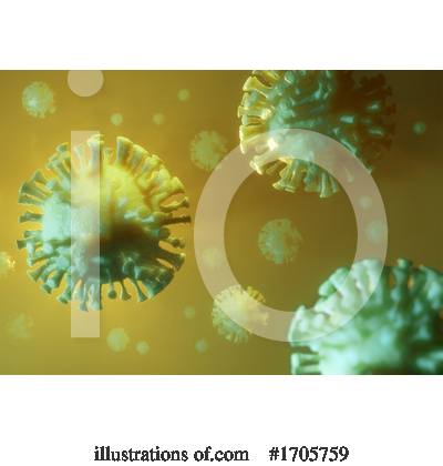 Royalty-Free (RF) Coronavirus Clipart Illustration by Steve Young - Stock Sample #1705759