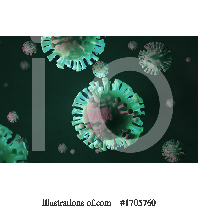 Coronavirus Clipart #1705760 by Steve Young