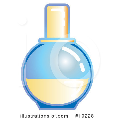 Perfume Clipart #19228 by AtStockIllustration