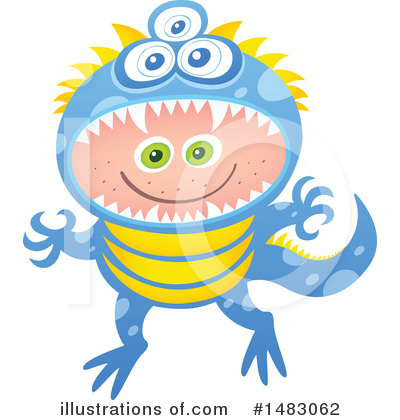 Monster Clipart #1483062 by Zooco