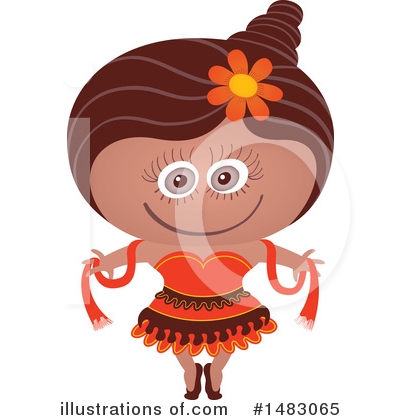 Dancer Clipart #1483065 by Zooco