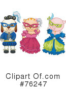 Costumes Clipart #76247 by BNP Design Studio