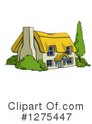 Cottage Clipart #1275447 by AtStockIllustration
