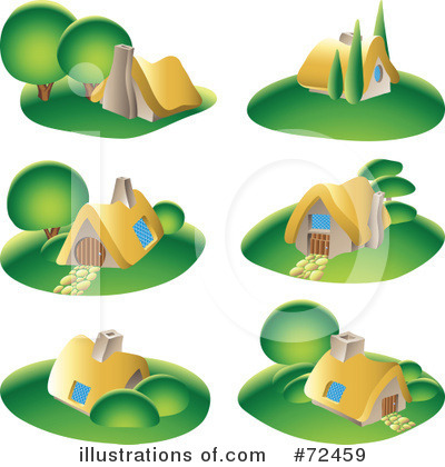 House Clipart #72459 by cidepix
